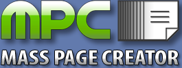 Mass Page Creator Coupon